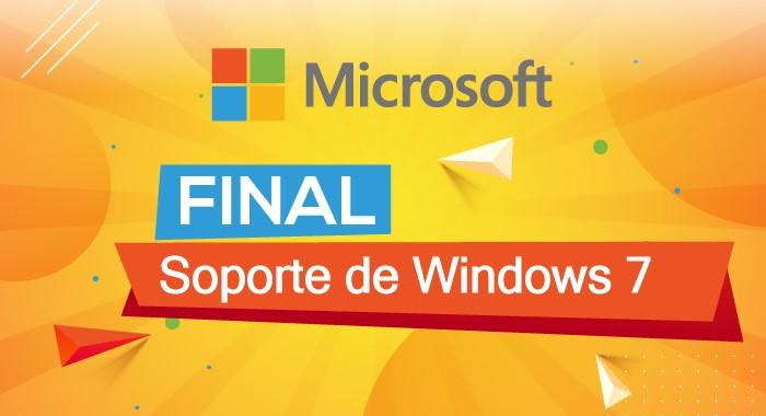 Final de soporte de Windows 7
